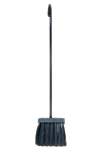 MINIMAL - FIREPLACE BROOM WITH SYNTHETIC BRISTLES