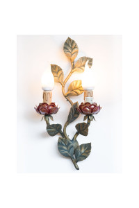 CAMELIA - APPLIQUE 2 LUMIERES